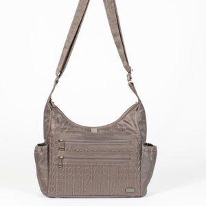 Walnut Brown Lug Camper bag used once!